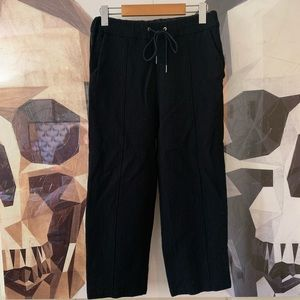Aritzia Wilfred Ankle Crop Wool Drawstring Pants